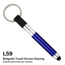 BOLIGRAFO TOUCH SCREENKEYRING
