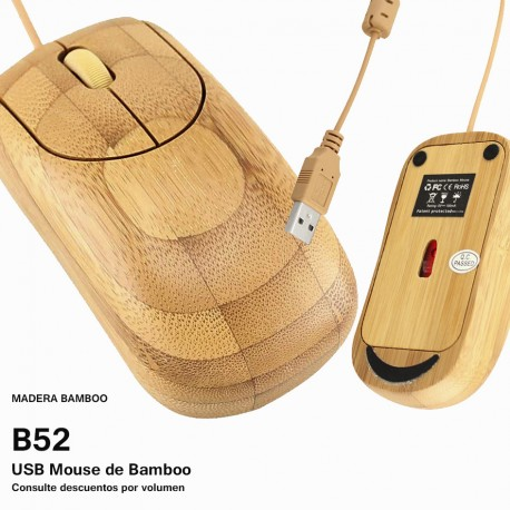 USB MOUSE BAMBOO