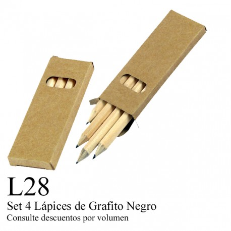 SET 4 LAPICES DE GRAFFITO