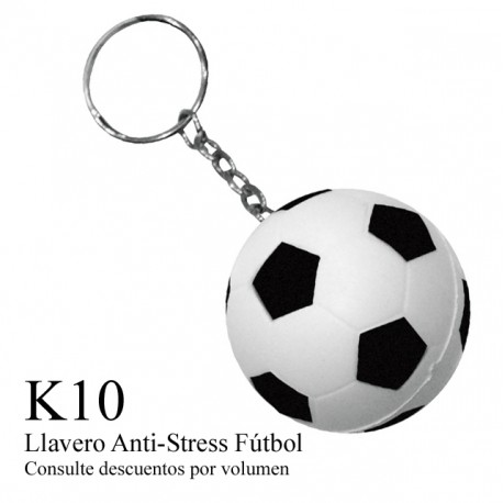 LLAVERO ANTI STRESS - SOCCER